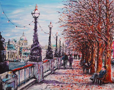 Autumn on the Southbank