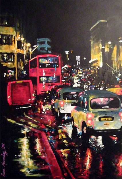 Rainy Night, London