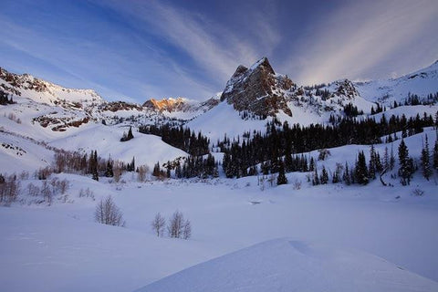 Lake Blanche in Winter
