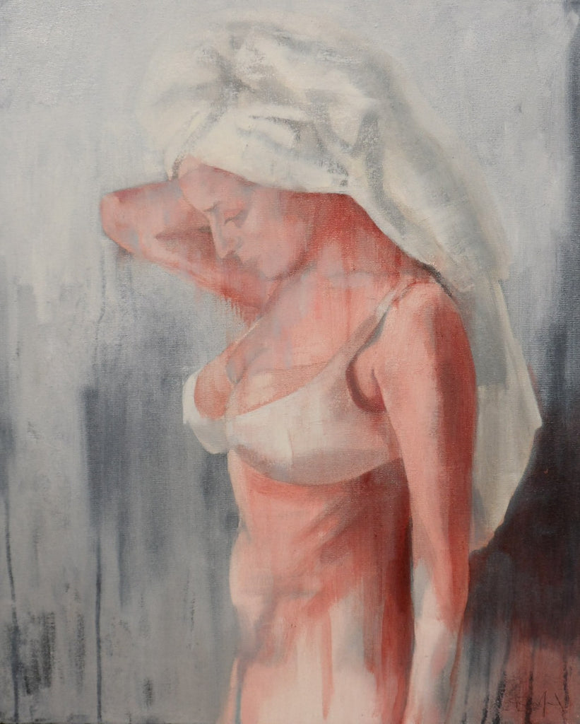 Girl with a Towel