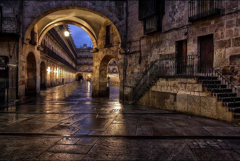 Salamanca in the night