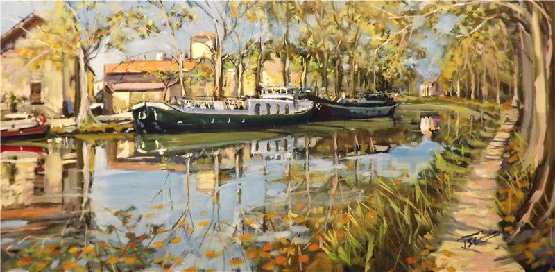 Autumn tranquility, canal du midi