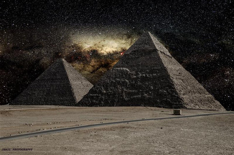 Milky Way from Pyramids to other