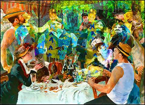 The Beatles Lunch with Renoir