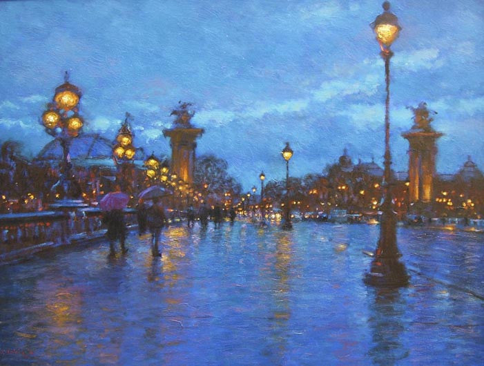 Evening Lights - Paris