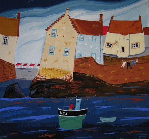 Pittenweem Washing Line