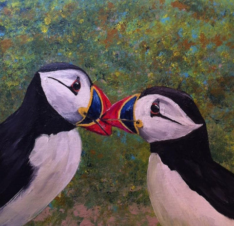 Puffin Kisses 2