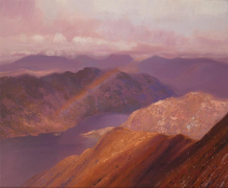 RAINBOW OVER LOCH HOURN