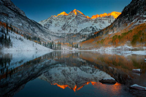 Maroon Bells In The Colorado Rockies