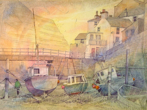 Staithes Beck Sunrise