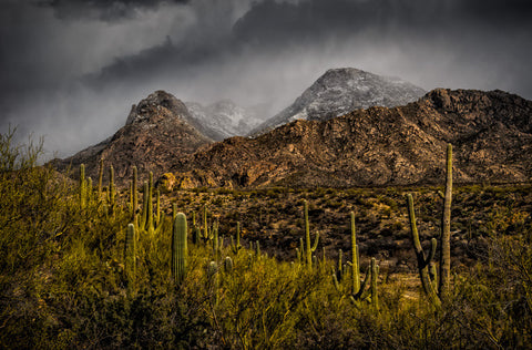 Storm Over Catalinas