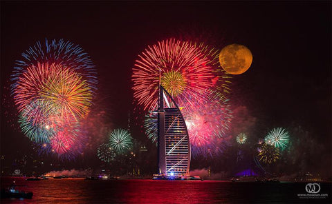 Dubai New Year 2013