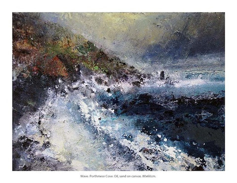 """Wave"" Porthcurno Cornwall"