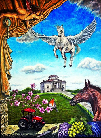 The Flight of Pegasus on the Berici Hills