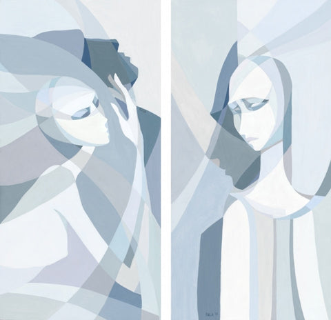 Echoes of Romance, diptych