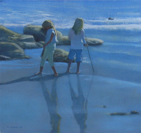 Two Girls, Paradise Cove