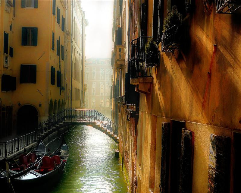 Canal Alley of Venice