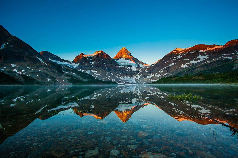 Mt. Assiniboine Reflection