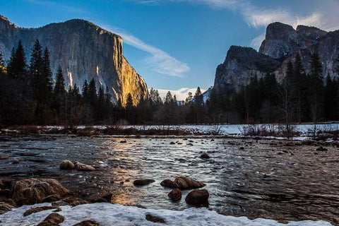 Winter Yosemite Valley