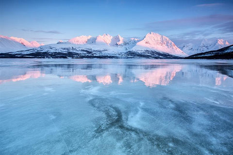 Reflection on Lyngen Alps, Norway