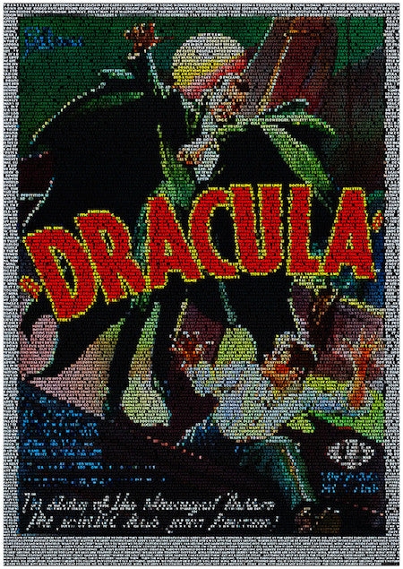 Fine art print of the Dracula movie poster