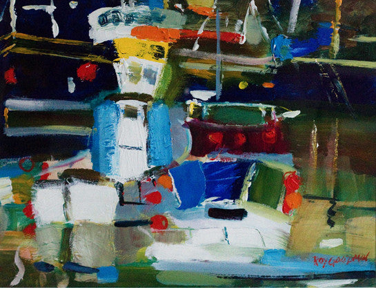 Boats at Mevagissey