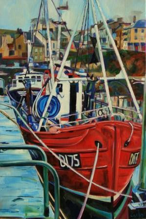 Fishing Boats - Roundstone Harbour, Eire