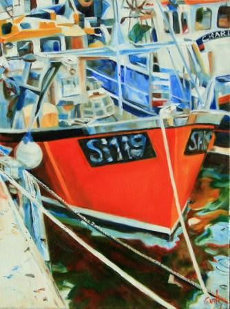 Fishing Boats - Weymouth harbour