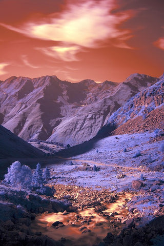 Infrared Pyrenees
