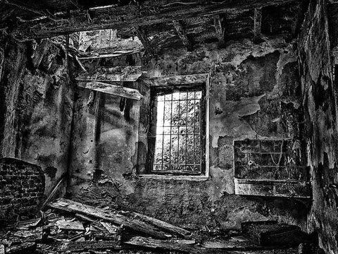 The Lost house BW (inside)
