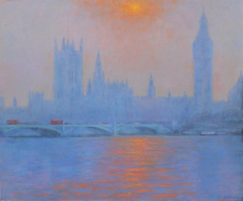 Westminster Evening Light
