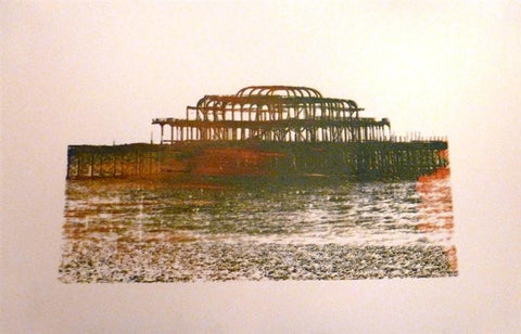 West Pier Brighton (Silkscreen Print)