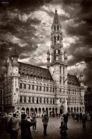 The Grand Palace in Brussels