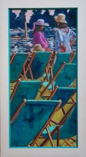 Deckchairs at Henley Royal Regatta