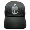 Flag Anchor Dad Hat - Reflective Threads (Black)
