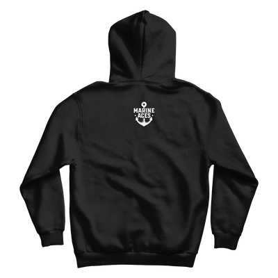 USA Fisher Hoodie (Black)