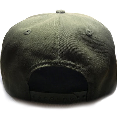 Crossed Anchor Snapback (Green)