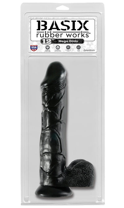 "Rubber Works 12"" Mega Dildo"