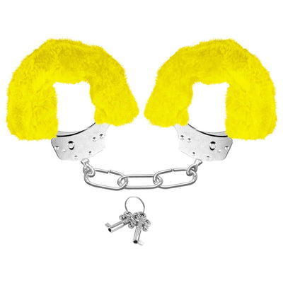 Neon Furry Cuffs - Lock Up Your Lover!