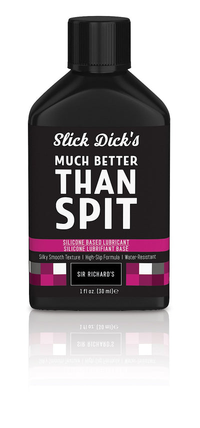 Sir Richard's Slick Dicks Much Better Than Spit Silicone Lubricant - Multiple Sizes