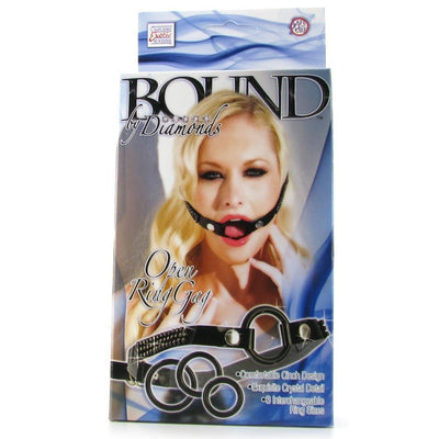 Bound by Diamonds Open Ring Gag