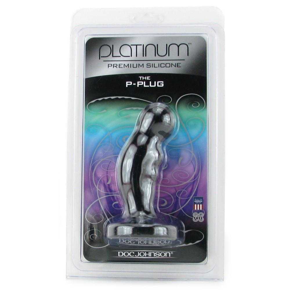 Doc Johnson Platinum Silcone 5 Inch Prostate Plug