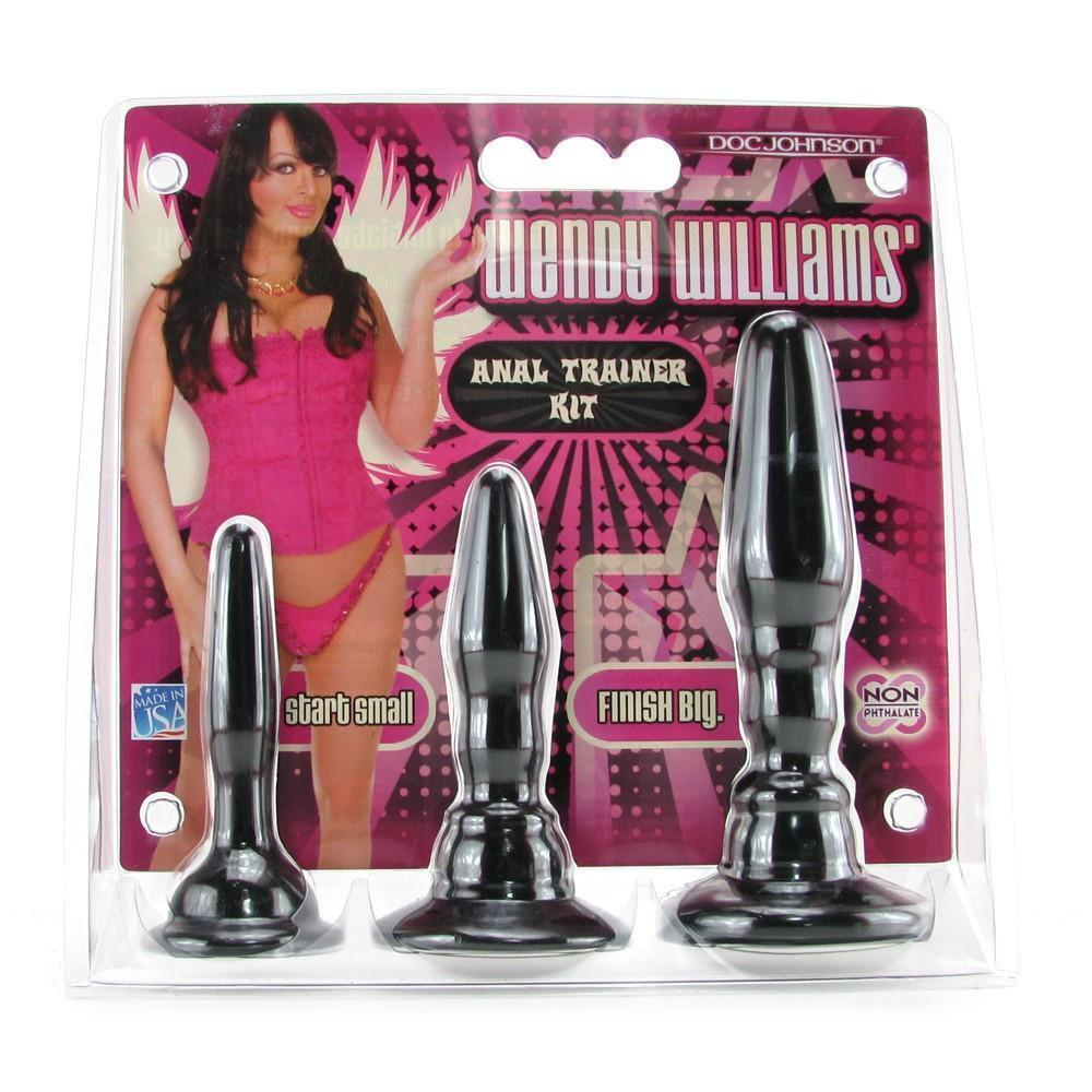 Doc Johnson Wendy Williams 3-Pack Anal Trainer Kit