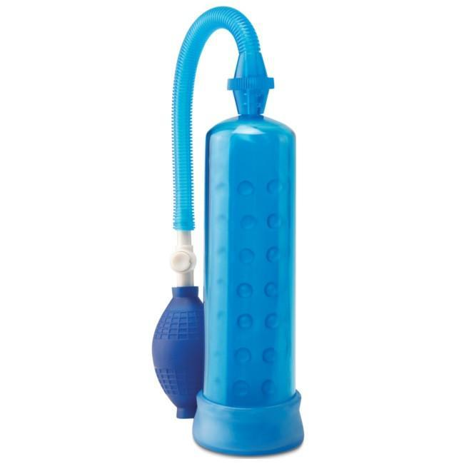 Silicone Penis Pump in Blue