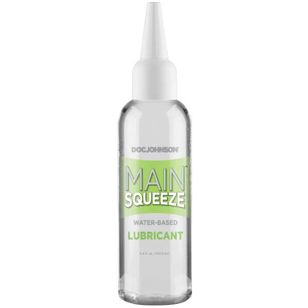 Main Squeeze Water-based Lubricant - 34 Oz