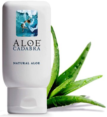 Aloe Cadabra Organic Personal Lubricant and Natural Vaginal Moisturizer with 95% Aloe Vera