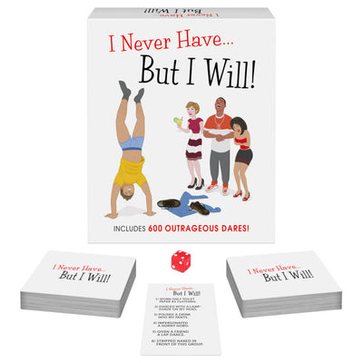 """I Never Have But I Will"" Adult Dare Card Game"
