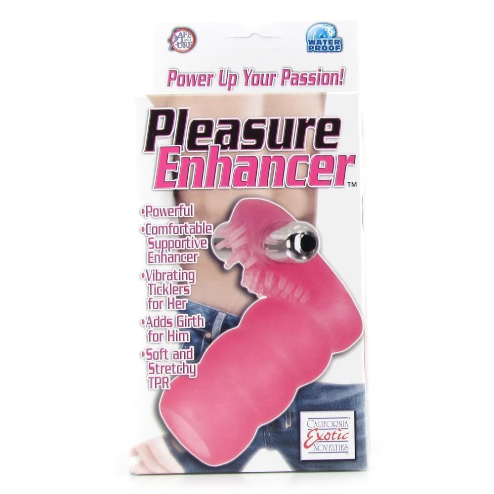 Pleasure Enhancer Vibrating Penis Sleeve