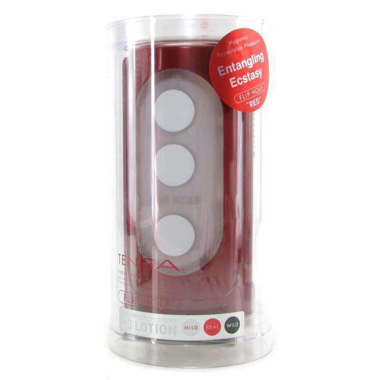 TENGA Red Flip Hole Male Masturbator