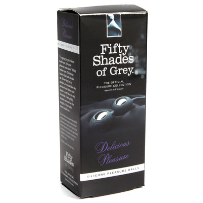 Fifty Shades of Grey Delicious Pleasure Silicone Ben Wa Balls